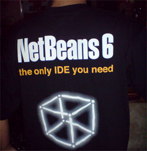 NetBeans 6 T-shirt (back)